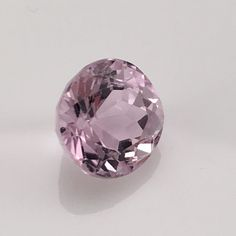 Brilliant Cut Round Kunzite gemstone (4.8 ct) 11 mm round Rated: 9 / 5 based on 9 customer reviews $130 In stock Product description: Pink kunzite was discovered in 1902 in the Pala District of San Di