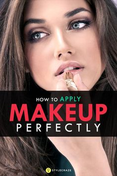 How To Apply Makeup Perfectly on Face - Tutorial For Beginners