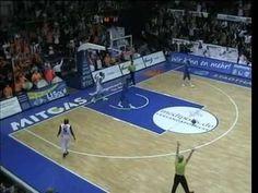 Jahrhundertwurf Basketball von Vassil Evtimov - Aus 23 Meter Entfernung zum Korb!