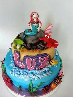 A special cake made for my favorite niece Luz