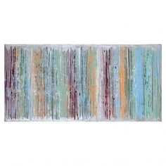 Off Moonbeam By Gio: 60 x 30 Inch Canvas Wall Art by Ren Wil. @ This directional piece uses pastel colors and textures to evoke a sense of continuity. Metal Wall Art, Canvas Wall Art, Acrylic Mirror, Texture, Art Of Living, Pastel Colors, Online Art Gallery, Painting Prints, Framed Artwork