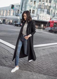 Look del día_suma de básicos_street-style_LaSelectiva_selección #streetstyle #streetwear #lookoftheday #fashion #moda #ropa #basics #coat