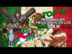 TOP 10 PERSONAJES MEXICANOS EN VIDEOJUEGOS | ROKZZ GAMER