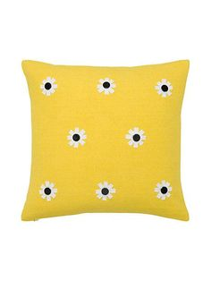 flower decorative pillow - Kate Spade New York