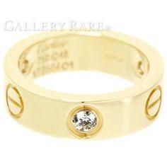 カルティエ リング ラブリング ハーフダイヤ ダイヤモンド K18YGイエローゴールド リングサイズ48 B4032400 Cartier 指輪 ジュエリー ダイアモンド