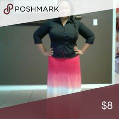 Maxi skirt Colorful maxi skirt. New without tags Skirts