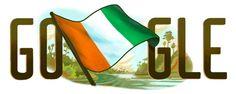 Google Doodles - Côte d'Ivoire Independence Day 2015 7th Nov