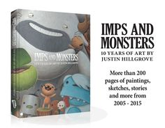 216 full color pages including over 300 paintings, sketches, stories and commentaries collected into a beautiful coffee-table book.