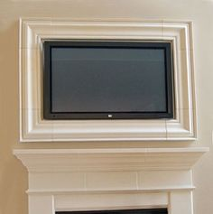 1000 Images About Framed Tv On Pinterest Tvs Fireplaces And Tv Over Fireplace