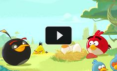 """It's here! """"Angry Birds Space"""""""