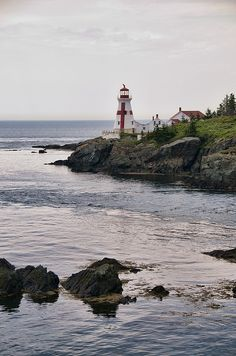 East Quoddy Head Lighthouse by Stoney Ballard
