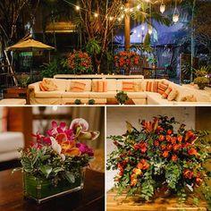 A decoração que a @floreformaentrega fez para o #noivado de Graziella e Marcelo teve luzinhas, velas suspensas e tons como terracota, laranja e rosa!👰👰👰A @blueweddingdesign cuidou da assessoria e, no site, tem mais detalhes! Vem ver: www.constancezahn.com💻{ Fotos: Danilo Siqueira | Tapetes: @bykamy | Móveis: @ambienteeventos } #CZSaoPaulo #decoraçaodenoivado