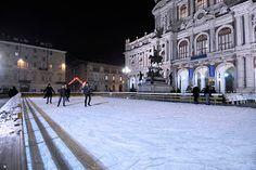 Patinoire in piazza Carlo Alberto