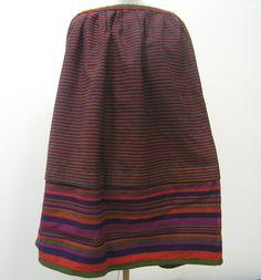Dámská kanafasová sukně, Muzeum Vysočiny Havlíčkův Brod