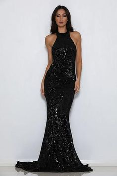 PRE ORDER SHIP APPROX APRIL Alexis Gown Glamorous statement piece Embellished with all-over sequins fully lined with back zipper open Back Stretch sequin Material models wearing size XS XS S M L Bust 77 80 84 88 Waist 60 63 67 71 Hip 75 78 82 86 Deb Dresses, Going Out Dresses, Elegant Dresses, Bridesmaid Dresses, Prom Dresses, Bridesmaids, Blue Satin Dress, Satin Dresses, Formal Prom