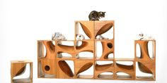 Catable 2.0 by Ruan Hao http://www.woodz.co/category/products/