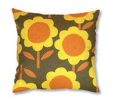 seventies design cushion