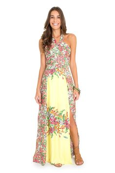 Vestido longo fiesta das flores - Vestidos | Dress to