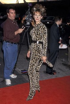 Jamie Lee Curtis As A Leopard, 1998Again, this wouldn't pass muster by 2016…
