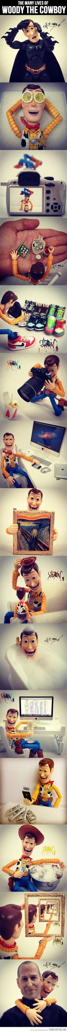 Woody's Secret Life