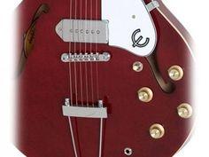 Guitarra Semi - Acústica Epiphone Casino - Cereja com as melhores condições você encontra no Magazine Gatapreta. Confira!
