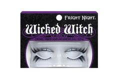 eb54df0803a Fright Night Wicked Witch Lash Duo is an edgy duo of upper and lower lashes  has a two-in-one appeal; a crisscross effect throughout with spiky accents.