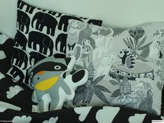 tyynyjä,päiväpeite,färg&form,lastenhuone