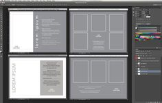 5x7 Gift Voucher Template for Adobe Photoshop & InDesign on Etsy, $25.00