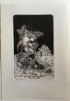 """Exlibris von Zdenek BUGAN """"Lucas Cranach""""  Blattgröße: 130 x180mm Druckgröße: 80x120 mm Lucas Cranach, Ebay, Art, Printing, Art Background, Kunst, Performing Arts, Art Education Resources, Artworks"""