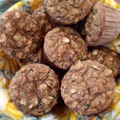 Zucchini Oat Muffins from Plantiful Wellness