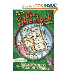 Amazon.com: Joe Sherlock, Kid Detective, Case #000005: The Art Teacher's Vanishing Masterpiece (9780060854713): Dave Keane: Books