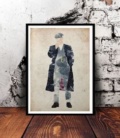 Tommy Shelby (Cillian Murphy) Peaky Blinders A4 print