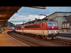 3 rušne ZSSK na čele súpravového vlaku - Bratislava hl. Bratislava, Train, Youtube, Strollers, Trains, Youtube Movies