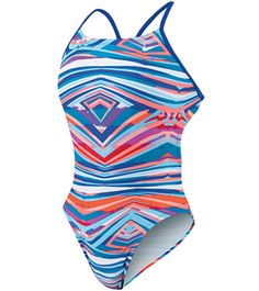 Nike Women's Rio Geo Cut Out Tank