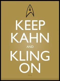 Keep Khan and Kling On