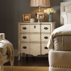 Have to have it. Lexington Home Brands Twilight Bay Caroline 3 Drawer Nightstand - $1029 @hayneedle