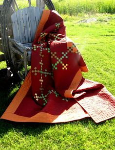 Amish Double Quilt