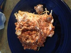 Spaghetti Pie- def a hit!! Will make again!