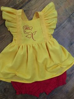 b4becc5d227c Belle Princess Ruffle Top Birthday Outfit Belle Outfit Princess Birthday  Outfit Disney Belle Outfit