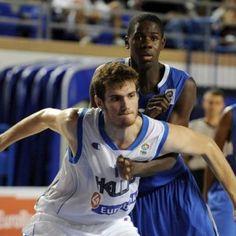 All the way from Amarousi, Greece, GW Men's Basketball Paris Maragkos (image courtesy FIBA)