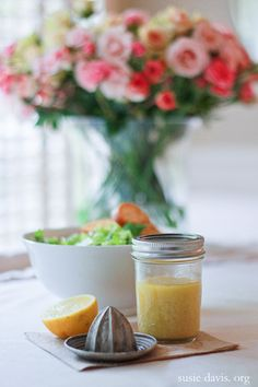from shauna niequist's bread & wine: caesar {vinaigrette} salad