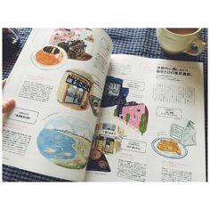 いま発売中のHanako、いろんな方々の東京遺産描いてます🗼片桐仁さんプッシュの般⚪︎若ってカレー屋さんに行ったことがないので行ってみたい。#ぱんにゃ #アテネフランセ #紀ノ国屋 #高橋の酒まんじゅう #葛西臨海公園 #富士そば