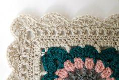 Crochet Afghan Border - Happily Ever Afghan