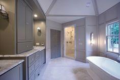 Custom Home-Atlanta - contemporary - bathroom - atlanta - Fitzgerald Construction