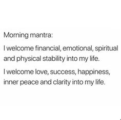 The power of positivity is genuine, and the conversation around related psychological facts and psychology realities are right here to stay. Daily Positive Affirmations, Morning Affirmations, Positive Quotes, Healing Affirmations, Money Affirmations, Positive Mindset, Positive Vibes, Daily Quotes, Life Quotes
