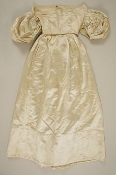 Dress Date: 1830s Culture: American or European Accession Number: C.I.46.82.20a, b