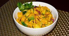 Nepali Tummy!!: Aloo Kakra ko Achar (Spicy Potato Cucumber Salad) Recipe!!