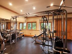 this is my dream gym in my house <3