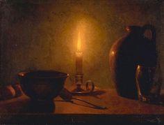 Une étude sur la chandelle d'Ozias Leduc  //  Candlelight Study ~ Ozias Leduc