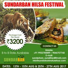 #Sundarban Hilsa #Festival. Package cost Rs.3200/- Suraj Das Mob :- 9932780889. visit: http://www.sundarbannaturetour.com